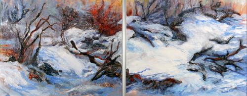 Snowy Brush Piles